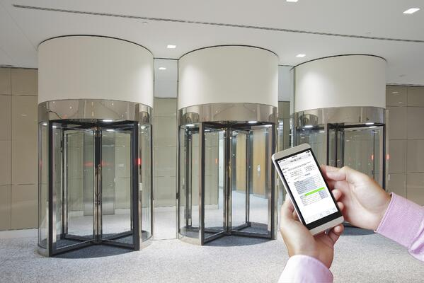 For faster technical resolutions, security revolving doors shoudl have a web-based software platform