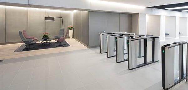 Optical turnstiles must be installed indoors