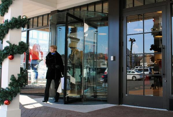 Boon Edam Revolving Doors Have Power Assist for Ease of Use