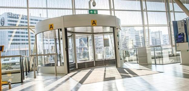 Revolving Door at Airport