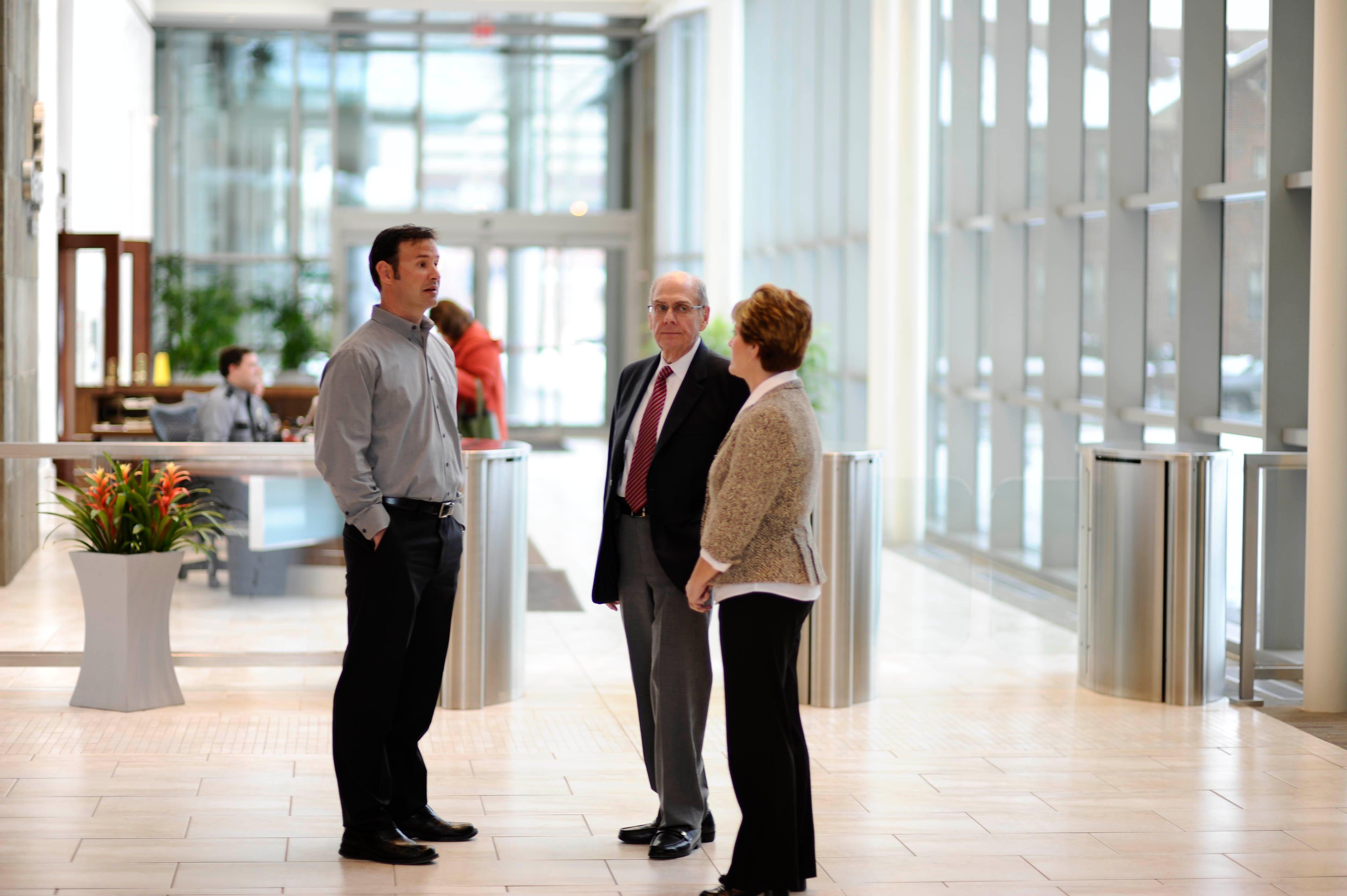 Does your manufacturer provide end user training on security entrances?