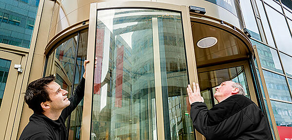Revolving Door Installation Tips from Boon Edam