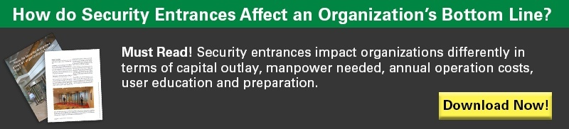 Download Whitepaper: How do Security Entrances Affect an Organization's Bottom Line?