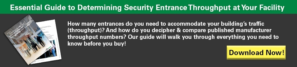 Essential Guide to Determining Security Entrance Throughput at Your Facility